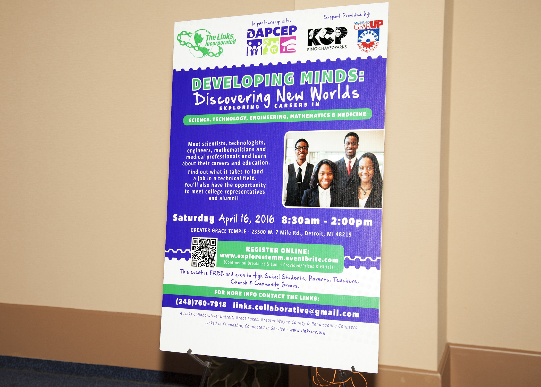 Dapcep Partnership Stemm Conference For High School Students